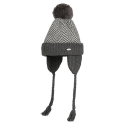 SMITH BRIDGE EARFLAP BEANIE 325 (GY)