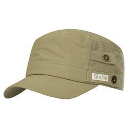 MR.REAL GOOD MAN MILITARY CAP 410 (KH)